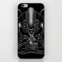 xenomorph iPhone & iPod Skins featuring The Passenger by Fuacka