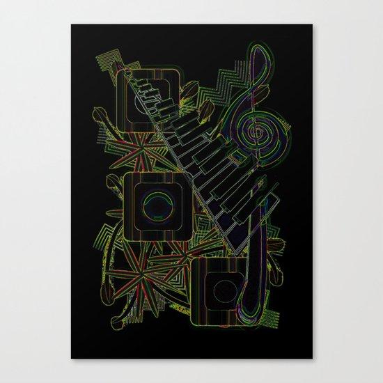 Jazz Club Canvas Print