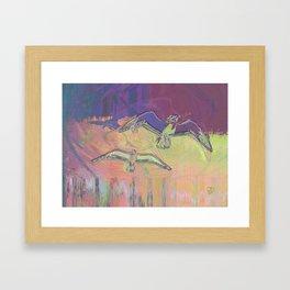Flight 2 Framed Art Print