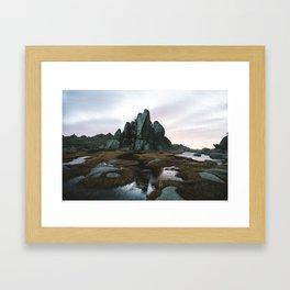 Aries Tor Sunrise Framed Art Print