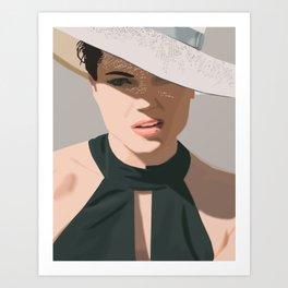 Lana Parrilla Art Print