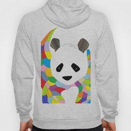 Patchwork Panda Hoody
