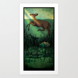 Lost River Art Print