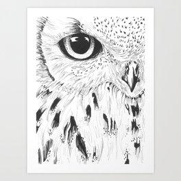 Hedwig Art Print
