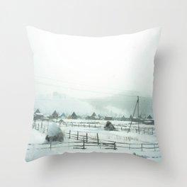 Winter 2 Throw Pillow