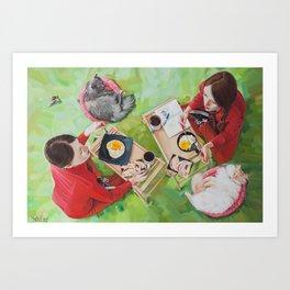Twins #FoodPorn Art Print