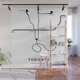 Music in your veins Wall Mural