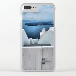 Santorini 13 Clear iPhone Case