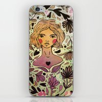 Bird Girl iPhone & iPod Skin