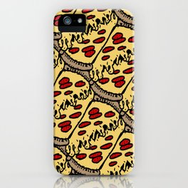 pattern pizza iPhone Case