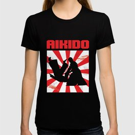 Japanese Martial Arts Karate Fighters Martial-Artist Kicking Aikido Artboard Judo Gift T-shirt