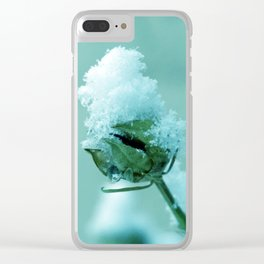 Masked :) Clear iPhone Case