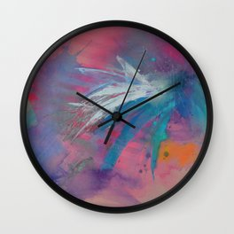 The Illusion is Real Wall Clock