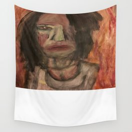 The Hungry Eyes Wall Tapestry