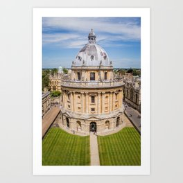 Radcliffe Camera - Oxford London Neo-classical Building Architecture Photography Art Print