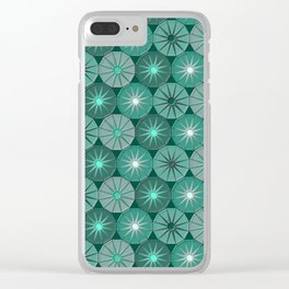 Geometrix 107 Clear iPhone Case