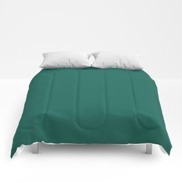 Trends Color Of The Day Galapagos Green Comforters