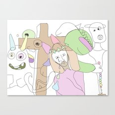 Funland 3 Canvas Print