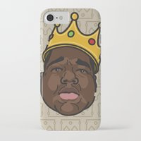 notorious big iPhone & iPod Cases featuring Notorious by DollarsandCents