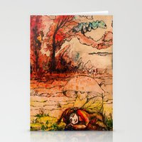 fairy tale Stationery Cards featuring fairy tale by Elvira Marinevich