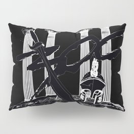 300 Black and White Pillow Sham