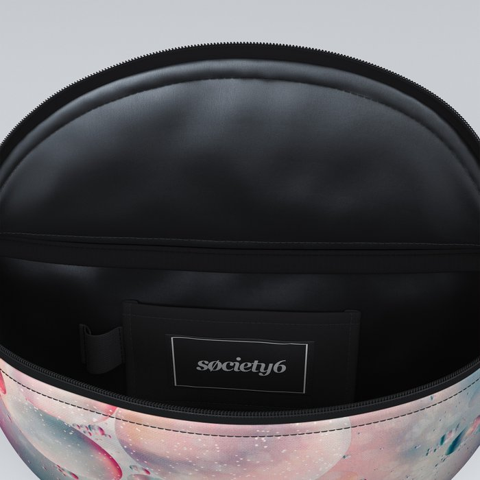 Oil and Water Abstract Background Fanny Pack