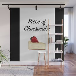 Piece of Cheesecake Wall Mural