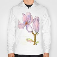 magnolia Hoodies featuring Magnolia by Coffee and Pen