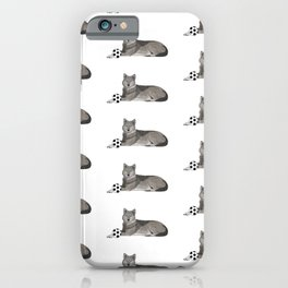 Soccer Wolf iPhone Case