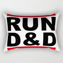 run D&D Rectangular Pillow