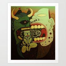cathartic Art Print