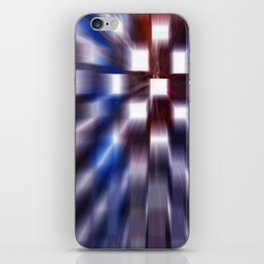 Windows Blue iPhone Skin