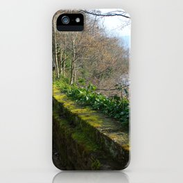 Road By The River Dee iPhone Case