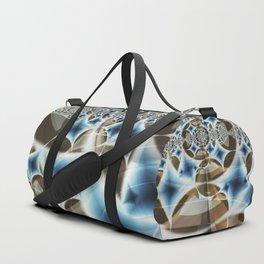 Diamond Lattice Duffle Bag