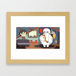 Big Hero 6: Hiro's Room Framed Art Print