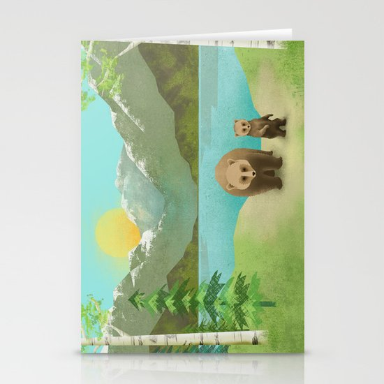 one cub Stationery Cards