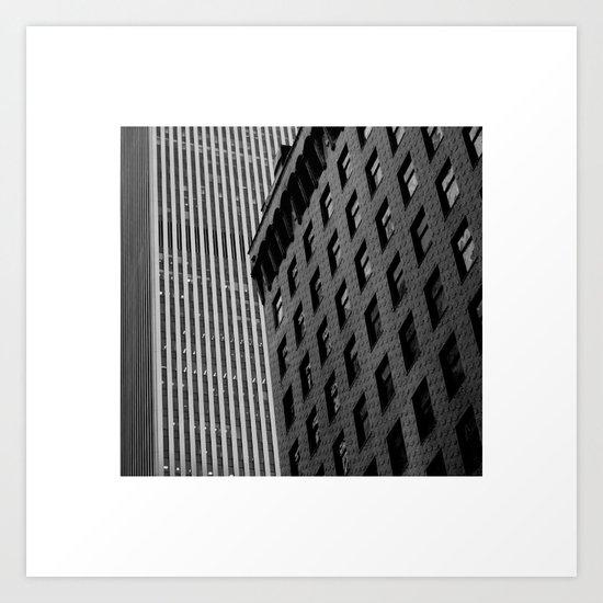 NY.Skyscraper III Art Print