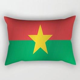 Flag of Burkina Faso Rectangular Pillow