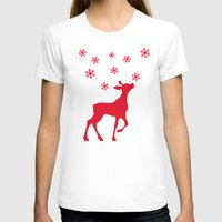 fawn T-shirts featuring fawn by Li-Bro
