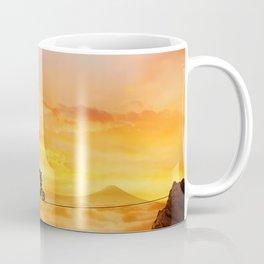 sunset balance Coffee Mug