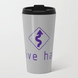 Drive Hard v6 HQvector Travel Mug
