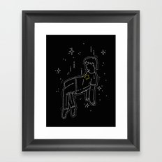 float into oblivion Framed Art Print