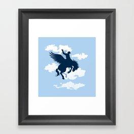 Sky Rodeo Framed Art Print