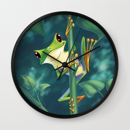 I love Being Green! Wall Clock
