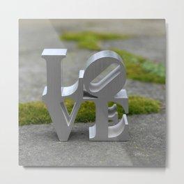 LOVE ROCKS Metal Print