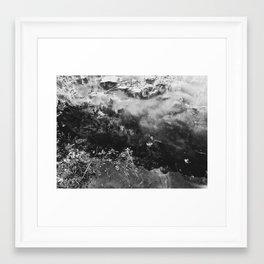 Black N White Framed Art Print