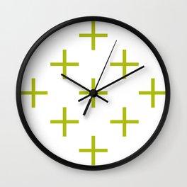 Plus Wall Clock