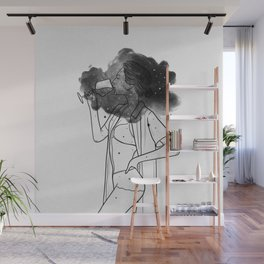 Breathing your soul. Wall Mural