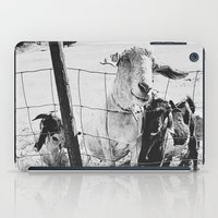 goat iPad Cases featuring Goat by Leah Flores