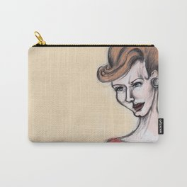 Joan Holloway Carry-All Pouch